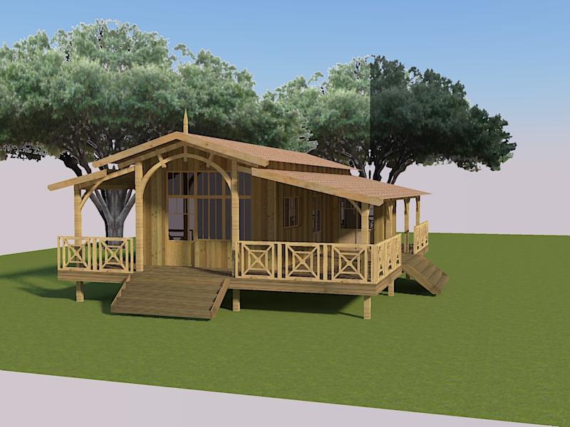 maison ossature bois moins de 50m2 # Construction Bois Gironde