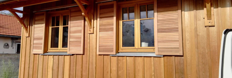 maison bois val de l'eyre